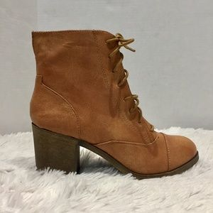 Rock & Candy Lace Up Combat Boots Size 10
